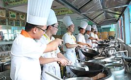 陕西新东方烹饪学校 实训环境