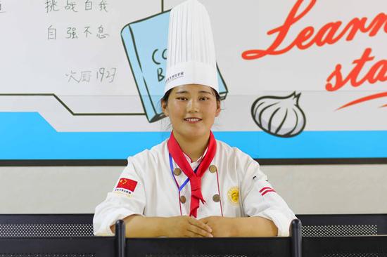 【我是新生】女子柔道冠军学厨师,厨师行业当真这么火?