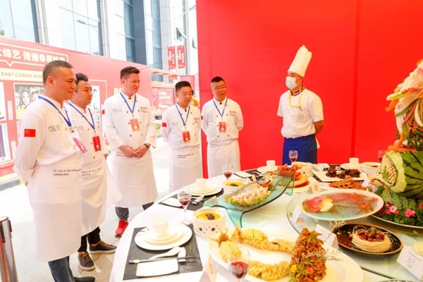 "2020CHA中國烹飪錦標賽丨""新東方杯""第六屆全國烹飪技能大賽(陜西賽區決賽)開幕"