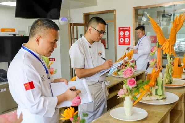 """2020CHA中國烹飪錦標賽丨""""新東方杯""""第六屆全國烹飪技能大賽現場"""