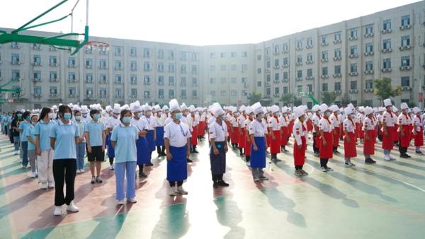 陕西新东方烹饪学校2020年新生开学典礼