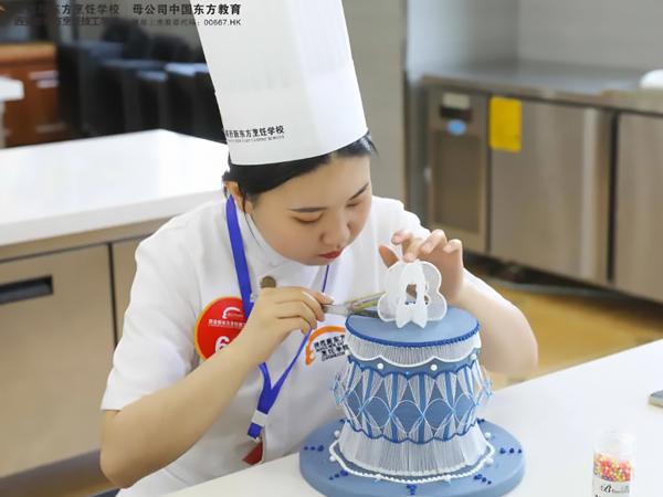 【言传身教】陕西新东方西点西餐教师技能大比拼,快来给你的老师打call!
