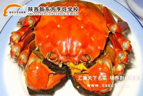 螃蟹装桶里的图片