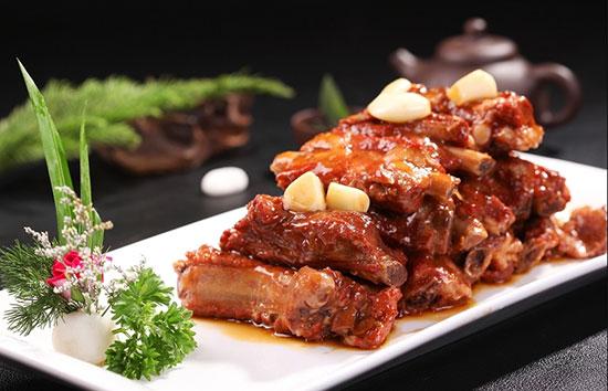 陕西新东方烹饪学校――酱排骨