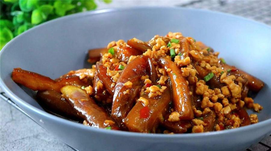 【新东方烹饪课堂】肉末茄子的做法