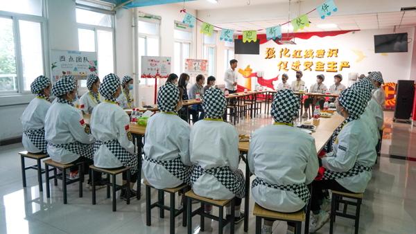 陕西新东方西点学子好利来参观学习